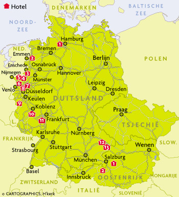 Ahauser Land Golfhotel Duitsland
